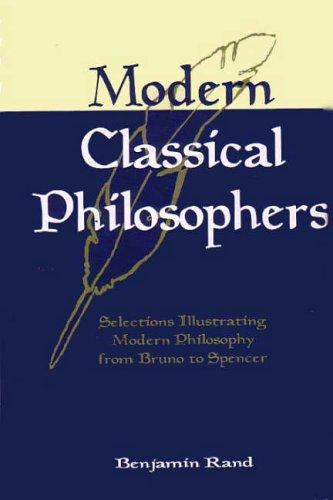 Download Modern Classical Philosophers