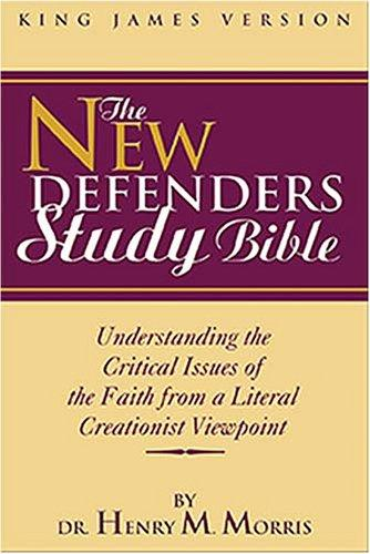 Download KJV New Defenders Study Bible