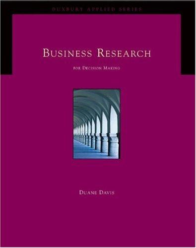 Download Business research for decision making