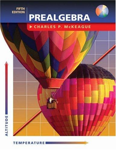 Download Prealgebra (with CD) (5th Edition)