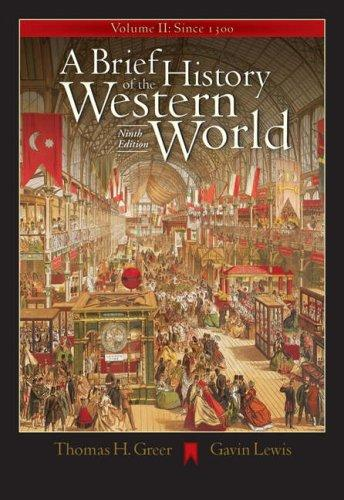 Download A brief history of the Western world