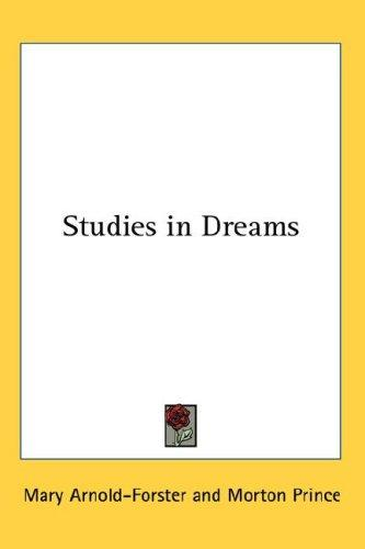 Studies in Dreams