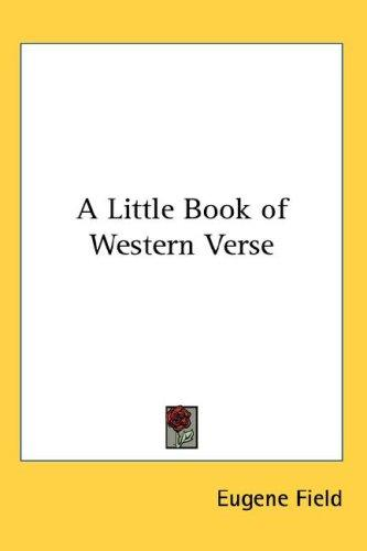 Download A Little Book of Western Verse
