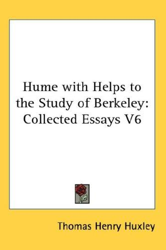 Download Hume with Helps to the Study of Berkeley
