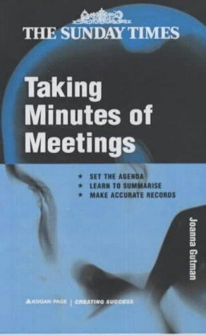 Download Taking Minutes of Meetings (Creating Success)