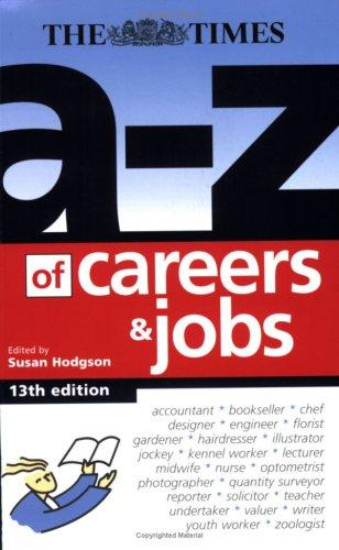 Download A-Z of Careers and Jobs