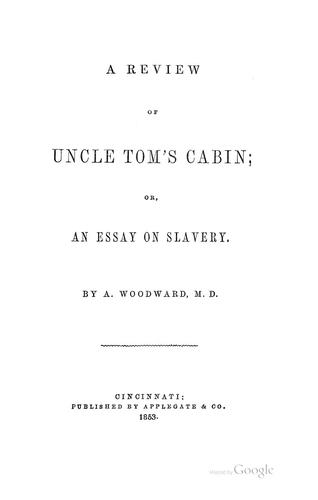 Download A review of Uncle Tom's cabin