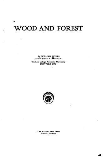 Download Wood and forest