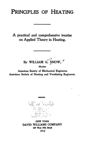 Download Principles of heating