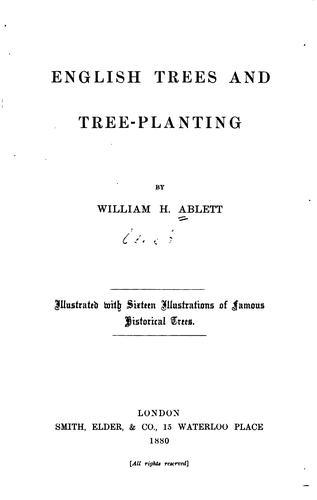 Download English trees and tree-planting