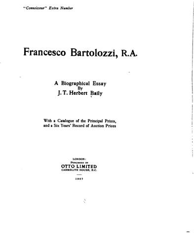Download Francesco Bartolozzi, R.A.