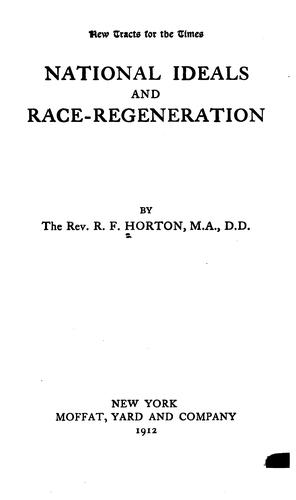 Download National ideals and race-regeneration