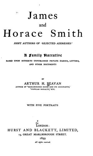 Download James and Horace Smith …