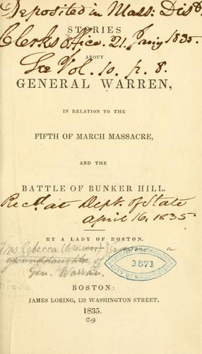 Download Stories about General Warren