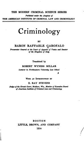 Download Criminology