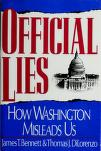 Cover of: Official lies