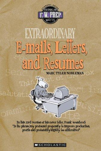 Extraordinary e-mails, letters, and résumés by Marc Tyler Nobleman