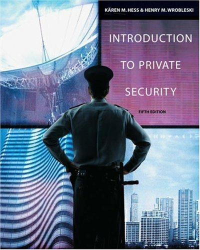 Introduction to private security by