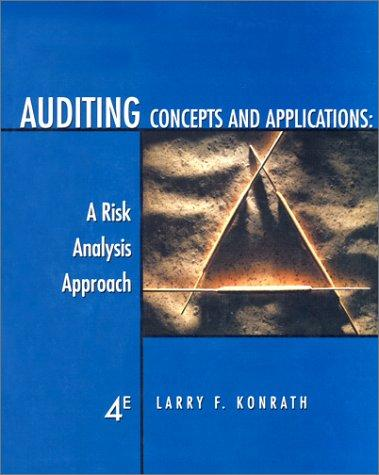 Auditing concepts and applications