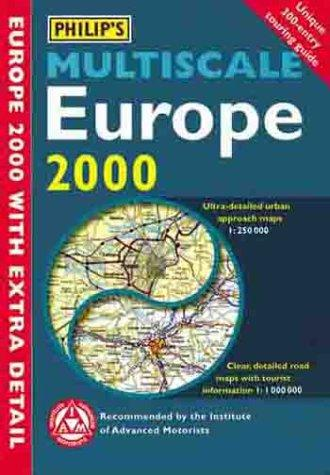 Philip's Multiscale Europe 2000 (Road Atlas) by Inc. Sterling Publishing Co.