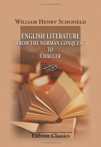 English Literature from the Norman Conquest to Chaucer
