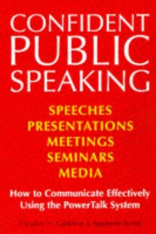 Confident Public Speaking by Christian Godefroy
